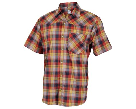 Club Ride Apparel New West Short Sleeve Shirt (Rust)