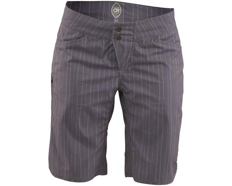 Club Ride Apparel Savvy Women's Short (Grey Artisan Pinstripe)