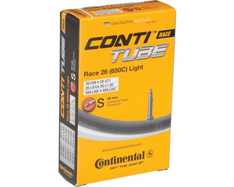Continental 650c Race Light Inner Tube (Presta) (18 - 25mm) (42mm)