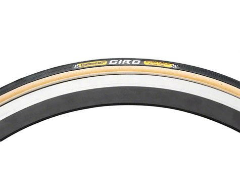Continental Giro Tubular Tire (Skinwall) (700c) (22mm)