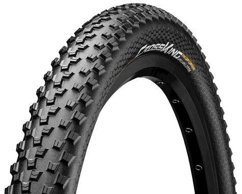 "Continental Cross King ShieldWall System Tubeless Tire (Black) (26"") (2.2"")"