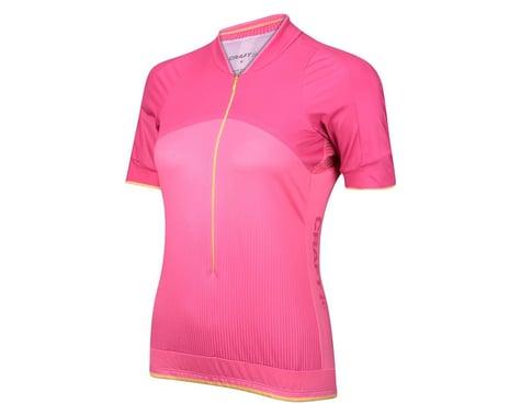 Craft Women's Belle Short Sleeve Jersey (Pink)
