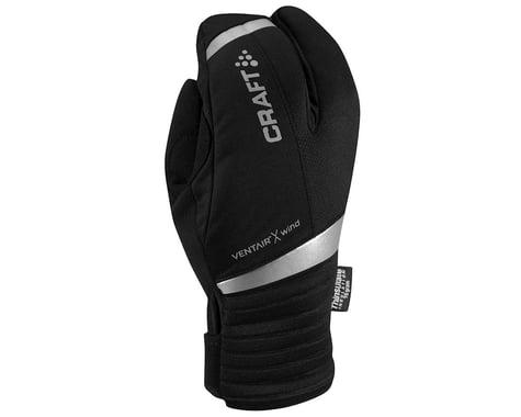 Craft Shield Split Finger Gloves (Black)