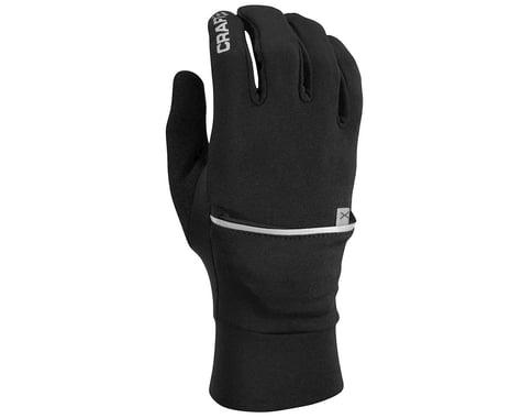 Craft Hybrid Weather Gloves (Black) (XL)