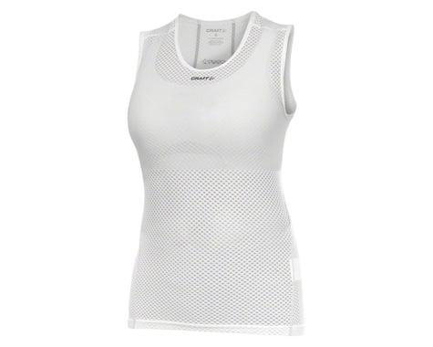Craft Women's Cool Superlight Sleeveless Base Layer Top: White XS