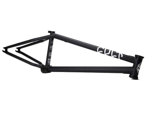 Cult Shorty IC BMX Frame (Sean Ricany) (Flat Black)