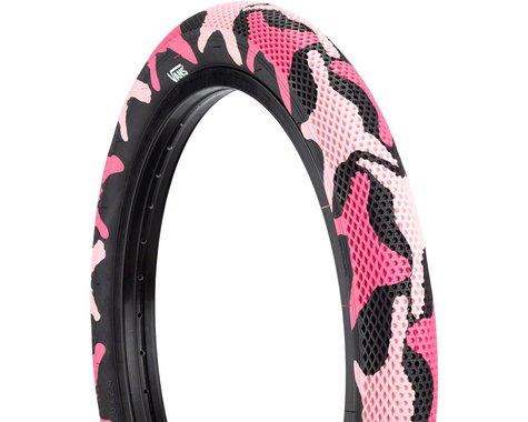 "Cult Vans Tire (Pink Camo/Black) (Wire) (20"") (2.4"")"