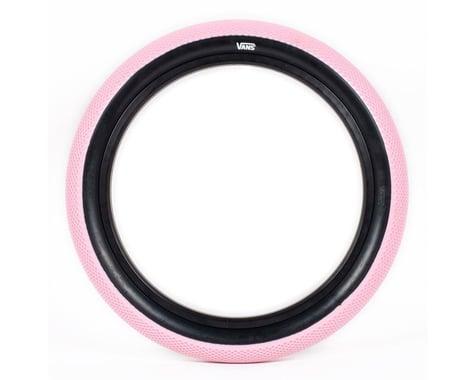 "Cult Vans Tire (Rose Pink/Black) (Wire) (20"") (2.4"")"