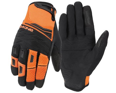 Dakine Cross-X Bike Gloves (Vibrant Orange) (XS)