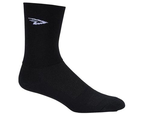 "DeFeet Aireator 5"" Double Cuff Sock (Black)"