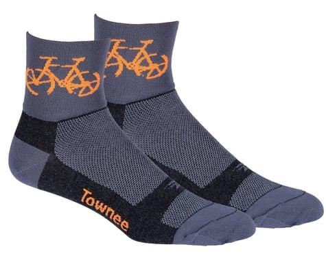 "DeFeet Aireator 3"" Townee Socks (Graphite) (M)"