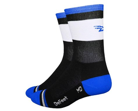 "DeFeet Aireator 5"" Cuff Socks (Grupetta Blue)"
