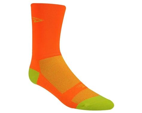 "DeFeet Aireator 5"" Hi Top Socks (Orange/Yellow) (S)"