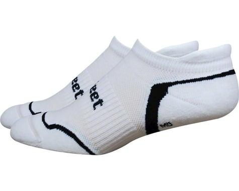 DeFeet D-Evo Tabby Socks (White/Black) (XL)
