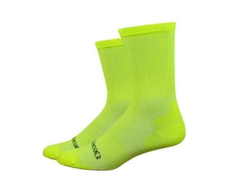 DeFeet Evo Classique Socks (Hi-Vis Yellow) (M)