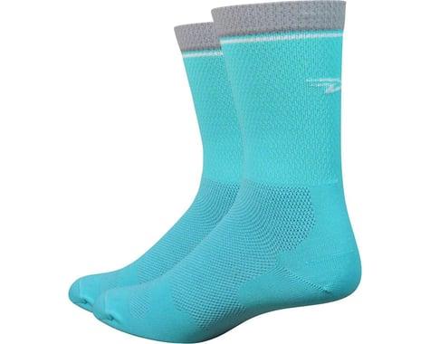 """DeFeet Levitator Lite 6"""" Socks (Neptune) (M)"""