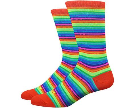 "DeFeet Mondo 6"" Spectrum Socks (Hi-Vis)"