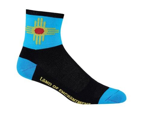 "DeFeet Aireator 5"" Socks (New Mexico) (L)"