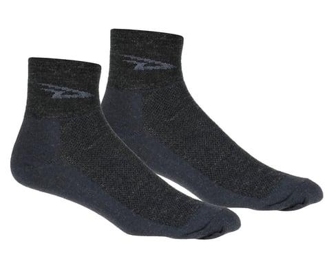 DeFeet Wooleator Sock (Charcoal Grey) (L)
