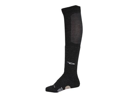 DeFeet Woolie Boolie Knee Hi Sock (Charcoal) (XL)