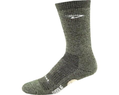 """DeFeet Woolie Boolie 6"""" Comp Sock (Loden Green) (L)"""