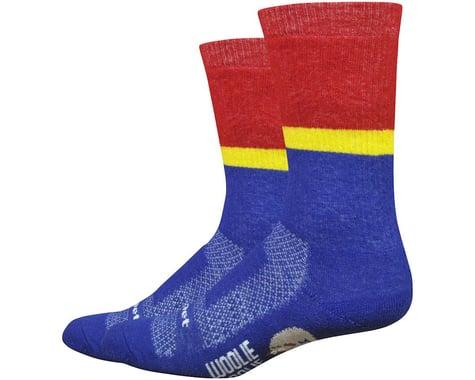 "DeFeet Woolie Boolie Comp 6"" Rover socks (Blue)"