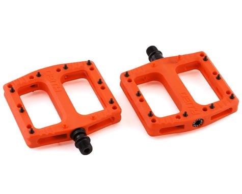 """Deity Deftrap Pedals (Orange) (9/16"""")"""
