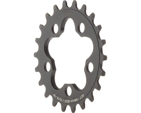 Dimension Inner Chainring (Black) (58mm BCD) (Offset N/A) (22T)
