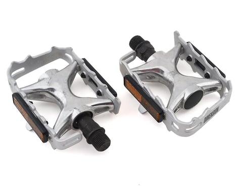 Dimension Compe Pedals (Silver/Silver)