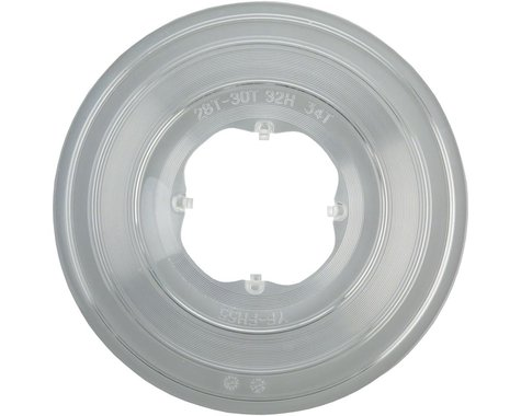 Dimension Freehub Spoke Protector (28-34 Tooth) (4 Hook) (32 Hole Clear Plastic)