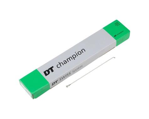 DT Swiss Champion J-bend Spoke (Silver) (2.0mm) (182mm)