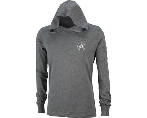 Eclat Circle Icon Long Sleeve T-Shirt: Dark Heather Gray MD