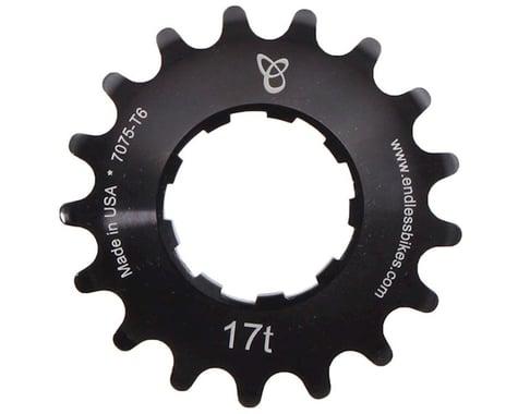 Endless Bike Anodized Kick Ass Cog (Black) (17T)