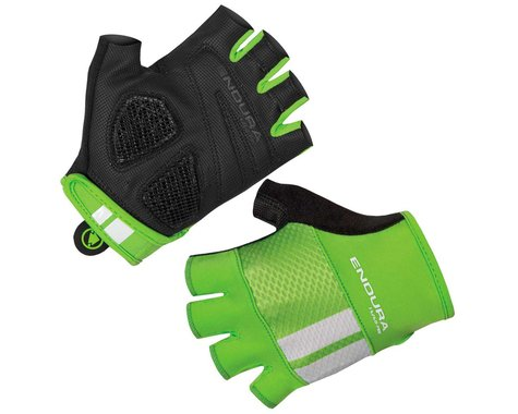 Endura FS260-Pro Aerogel Mitt Short Finger Gloves (Hi-Vis Green) (S)