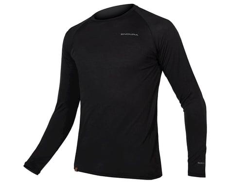 Endura BaaBaa Blend Long Sleeve Base Layer (Black) (S)