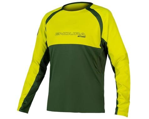 Endura MT500 Burner Long Sleeve Jersey II (Forest Green) (2XL)