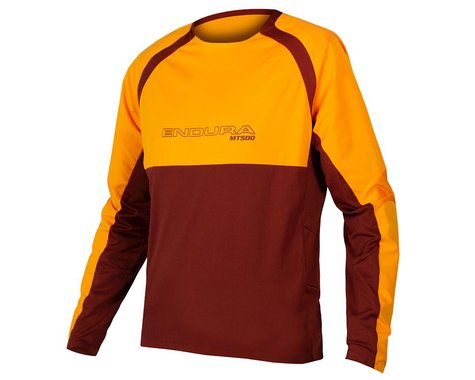 Endura MT500 Burner Long Sleeve Jersey II (Tangerine) (XL)