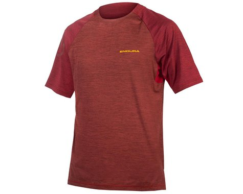 Endura SingleTrack Short Sleeve Jersey (Cocoa) (S)