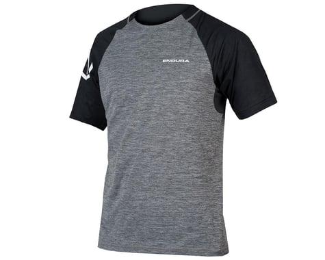 Endura SingleTrack Short Sleeve Jersey (Pewter Grey) (S)