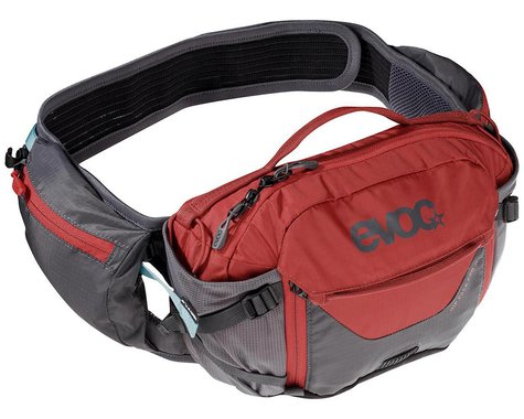 EVOC Hip Pack Pro Hydration Pack  (Carbon Grey/Chili Red) (100oz/3L)