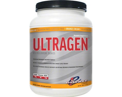First Endurance Ultragen Recovery Drink Mix (Cremesicle)
