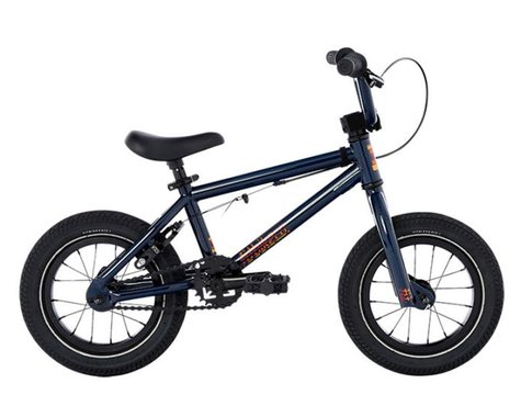 "Fit Bike Co 2021 Misfit 12"" BMX Bike (13"" Toptube) (Midnight Blue)"