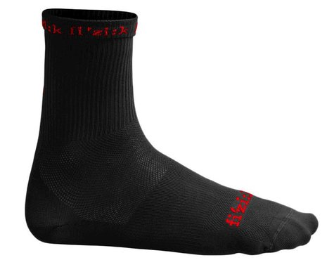 fizik Summer Cycling Socks (Black/Red) (XL/2XL)