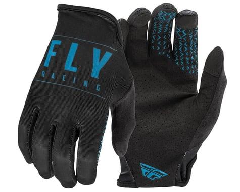 Fly Racing Media Gloves (Black/Blue) (S)
