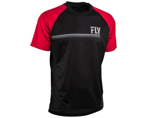 Fly Racing Action Jersey (Black/Red) (S)
