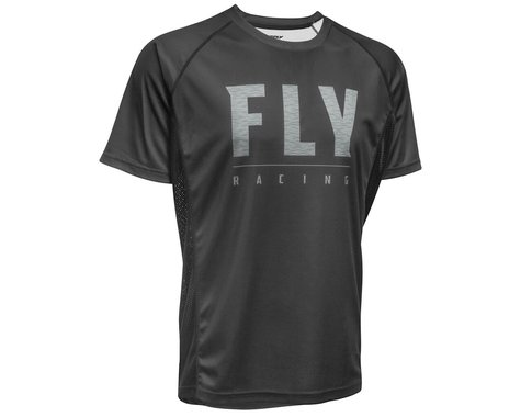 Fly Racing Super D Jersey (Black) (S)