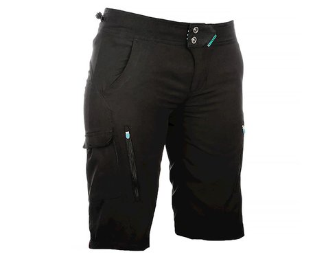 Fly Racing Lilly Women's Shorts (Black/Turquoise)
