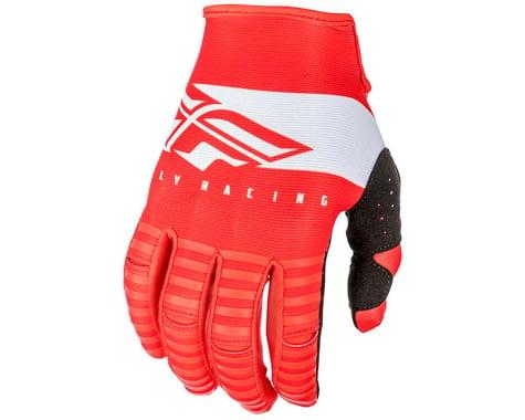 Fly Racing Kinetic Shield Mountain Bike Glove (Red/White)