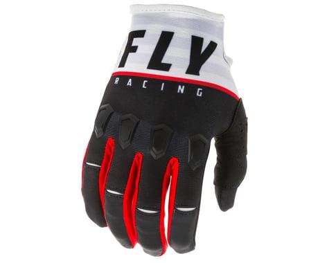 Fly Racing Kinetic K120 Gloves (Black/White/Red)