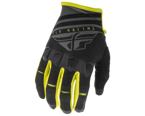 Fly Racing Kinetic K220 Gloves (Black/Grey/Hi-Vis)
